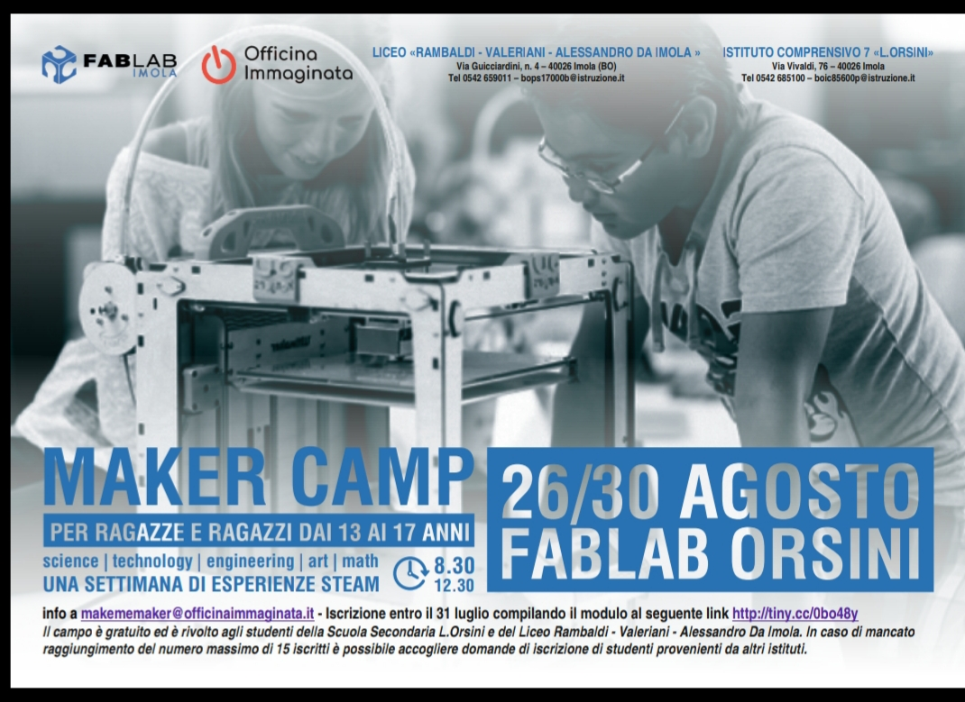 Campus Steam 26-30 Agosto