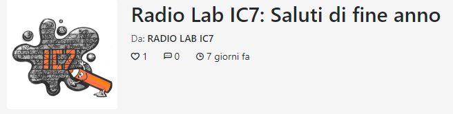 RADIO LAB IC7